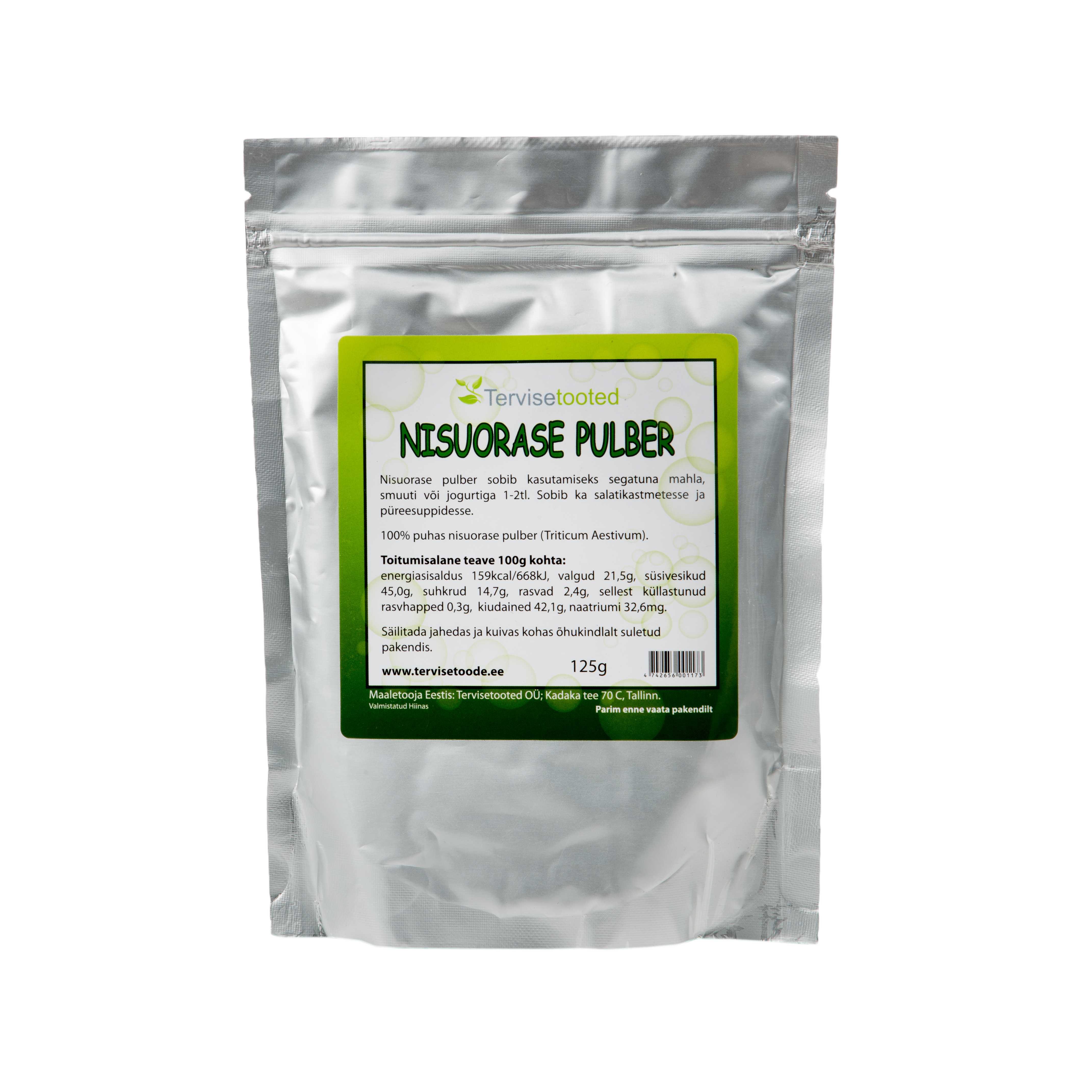 Nisuorase pulber 125g
