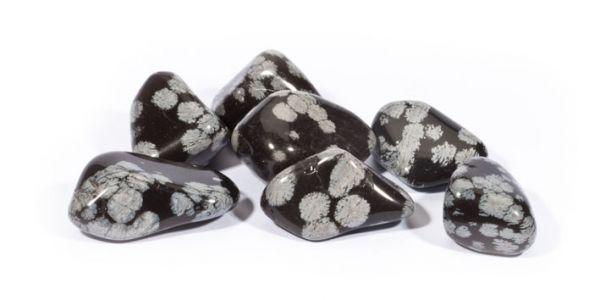 lihvitud Lumehelbe obsidiaan 1tk (1402)