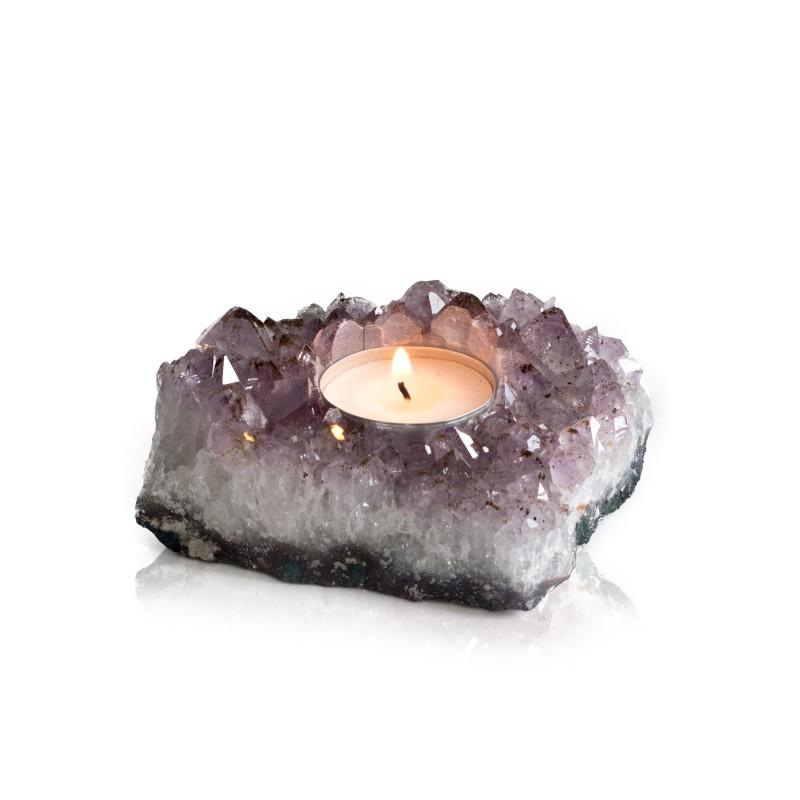 d385088abda Teeküünla alus, Ametüst kristallid (1696)