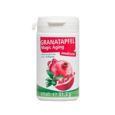 Granaatõunakapslid vitamiinide ja kollageeniga