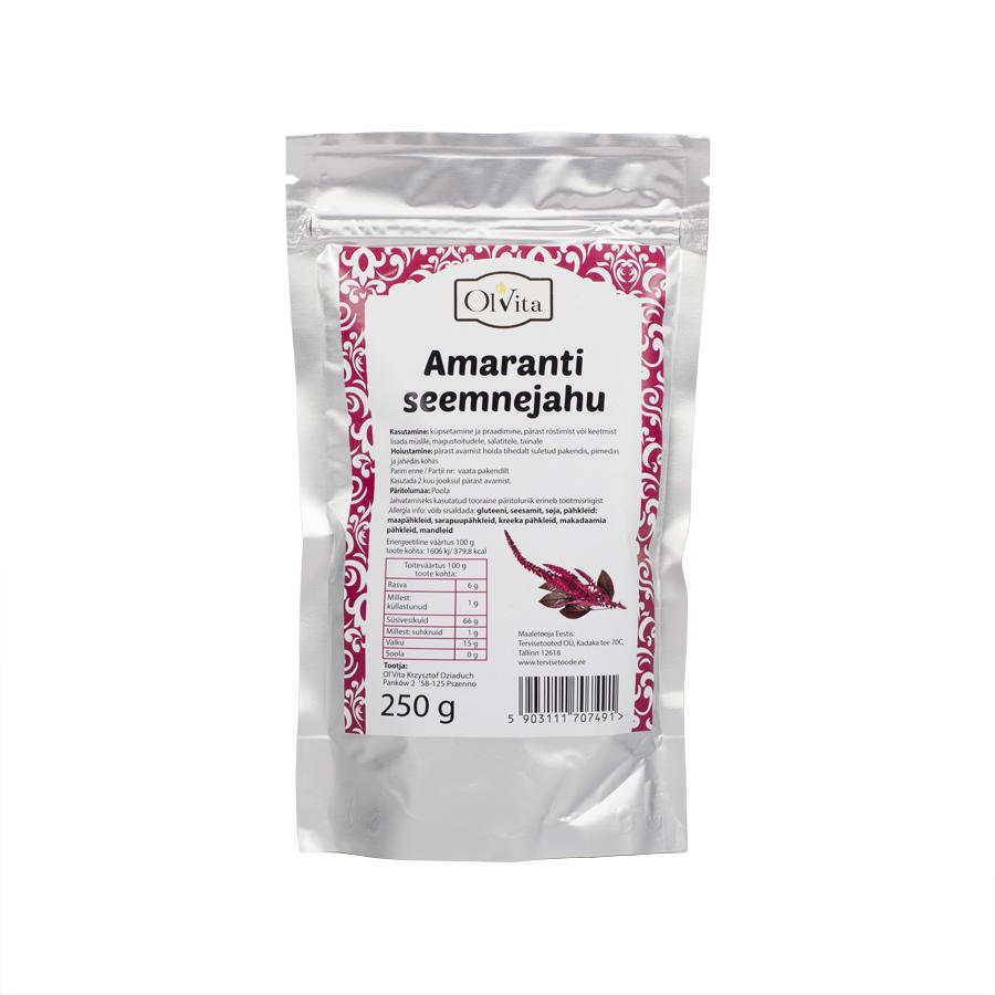 Amaranti seemnejahu, 250g (792)