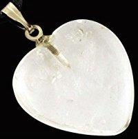 Ripats – süda Mäekristall, 30x30mm (1536)