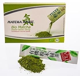 Bio Matcha doseerimispakid 10x1g (2442)