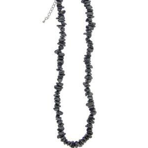 Kaelakee - Hematiit tsipsid, ca. 44-48 cm (2360)