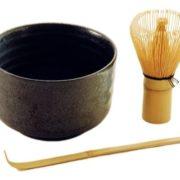 Matcha komplekt (kauss, bambusvispel ja lusikas)