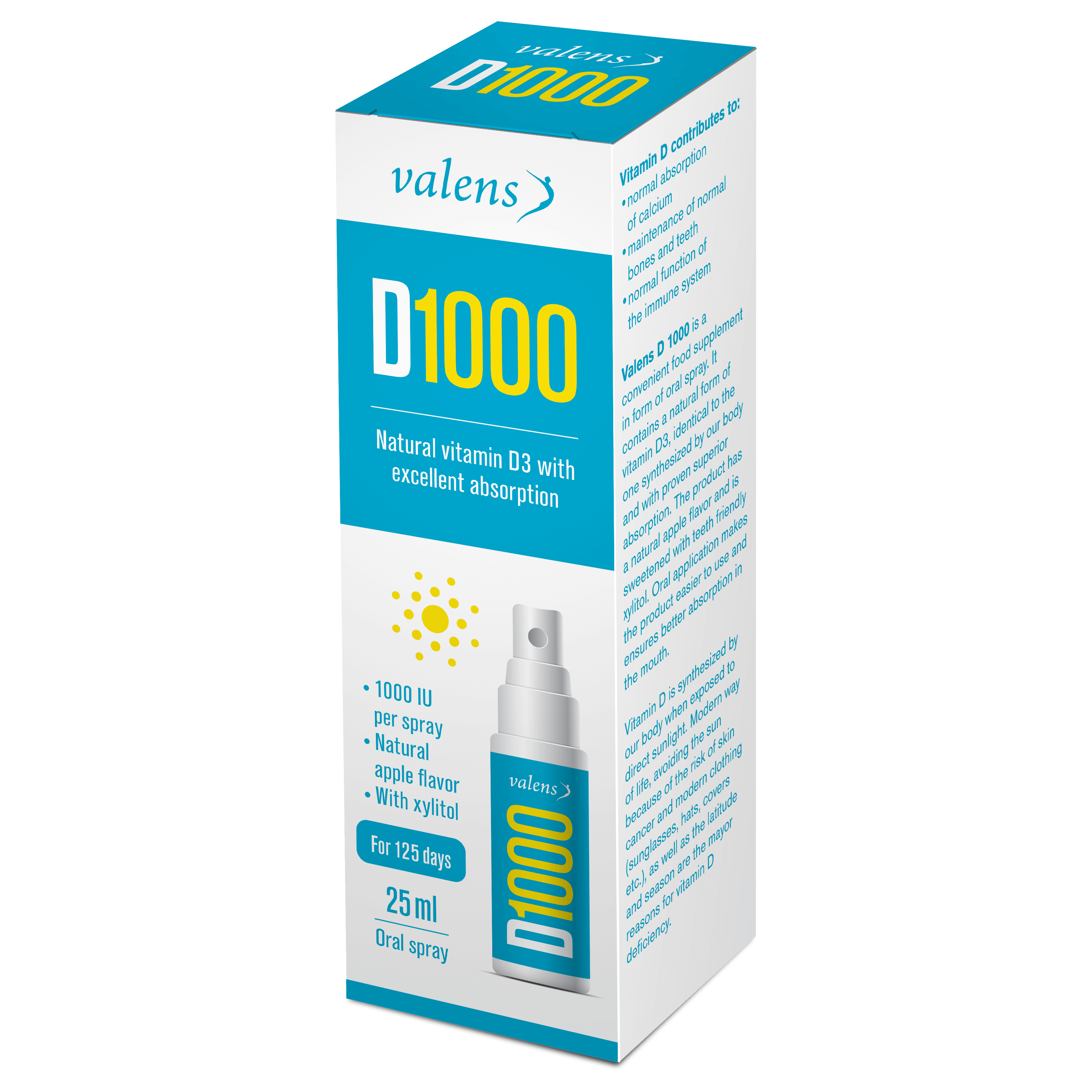 Spray D1000, 25ml (2395)