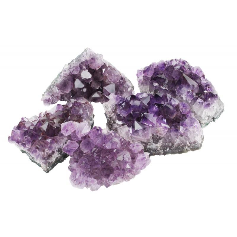 Ametüstkristallid, Brasiilia (2068)
