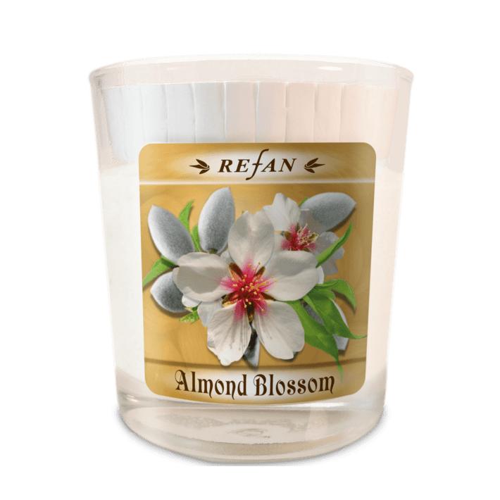 Sojavahast lõhnaküünal Almond Blossom – klaasis (1972)