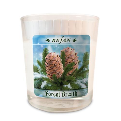 Sojavahast lõhnaküünal Forest Breath – klaasis (1974)