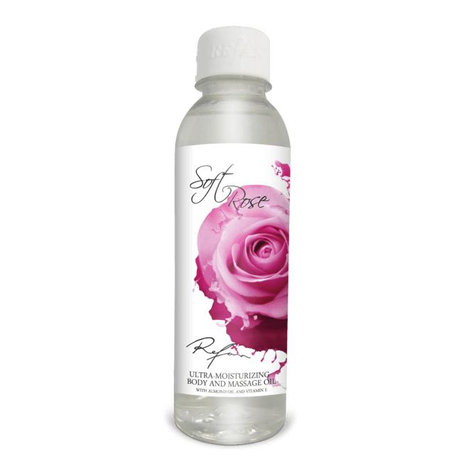 Ultra niisutav keha- ja massaažiõli Soft Rose, 250ml (2217)