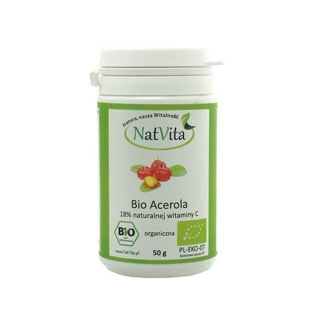 Acerola pulber BIO, 50g (2528)