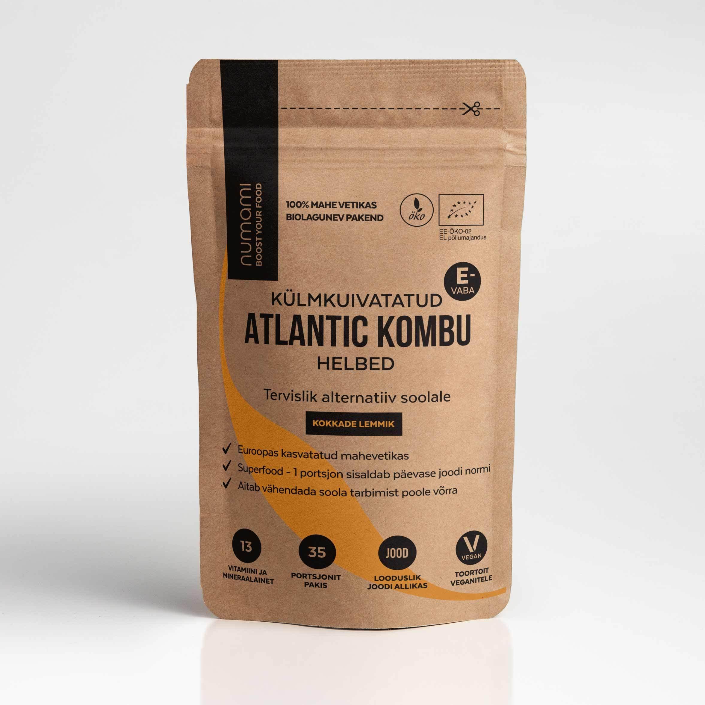 Atlantic Kombu, täitekott 12g (2571)