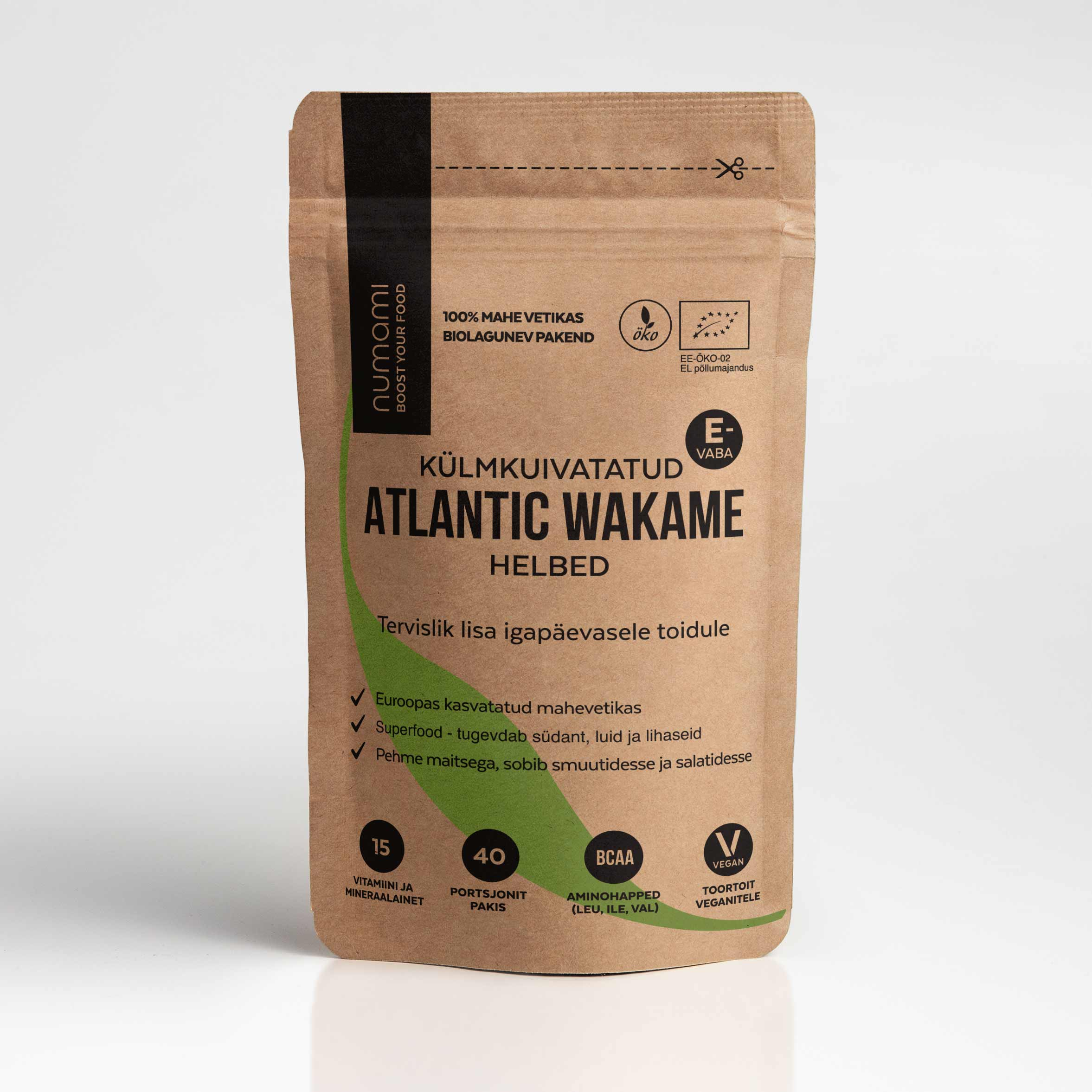 Atlantic Wakame, täitepakend 18g (2572)