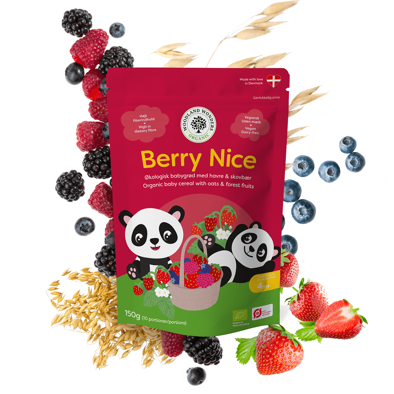 BERRY NICE – orgaanilised pudruhelbed, 150g (2761)