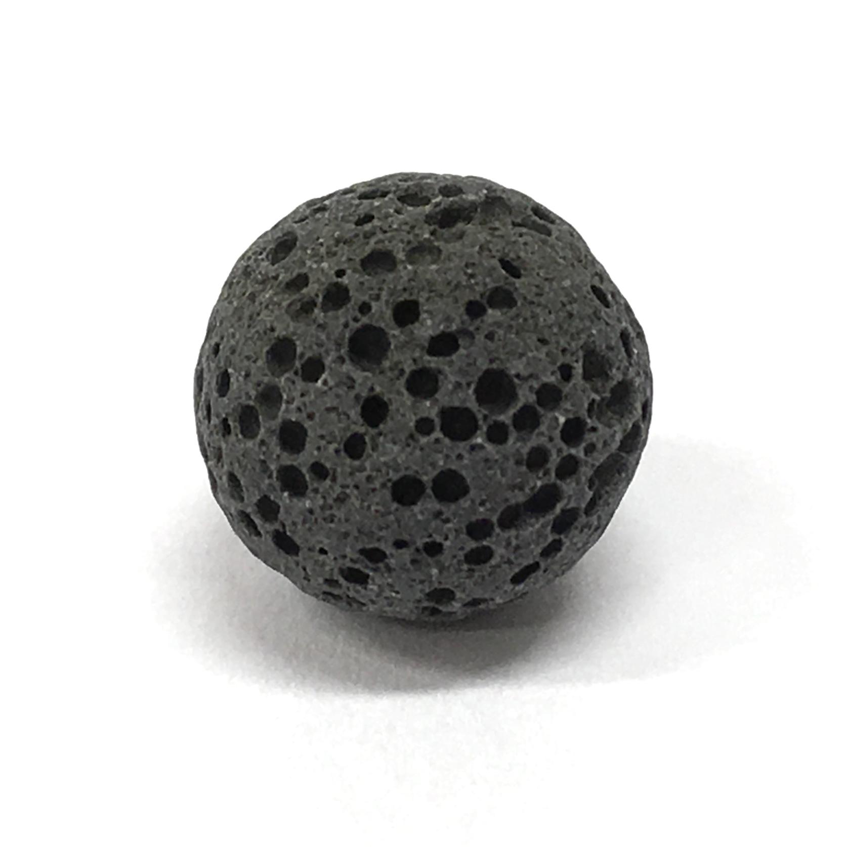 LaaLaavakivi kuul (must) 12mm (2727)
