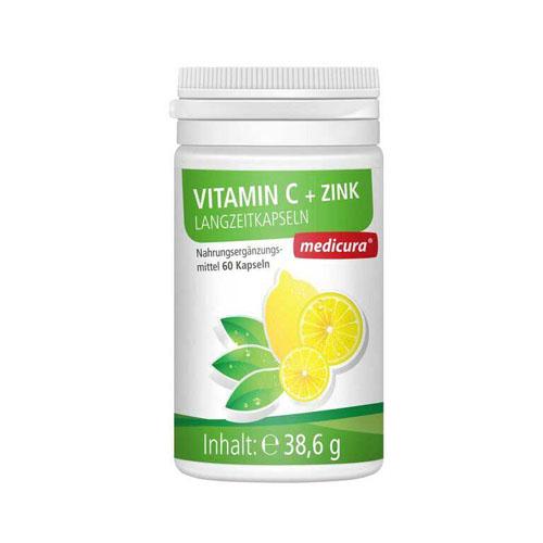 C-vitamiini kapslid tsingiga, 60tk (1734)