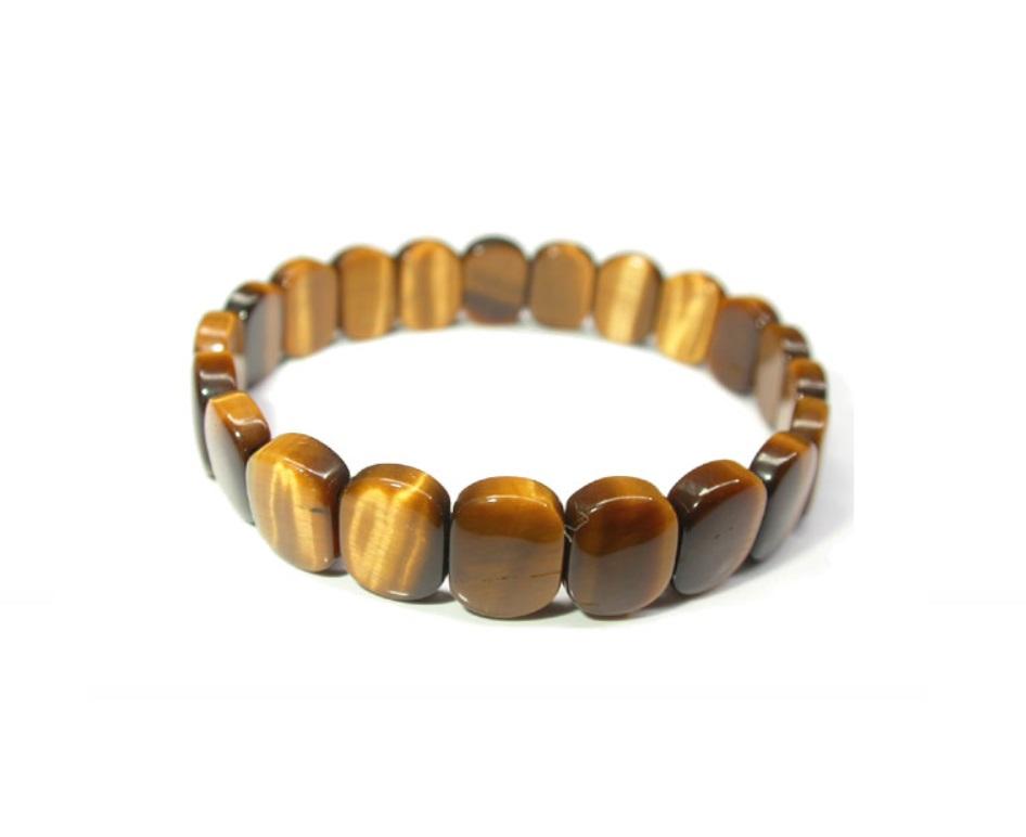 käevõru – Tiigrisilm lapikud pärlid 12x18mm (2744)