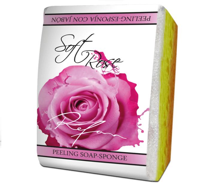 kooriv seep-svamm – Soft Rose, 75 g (2558)