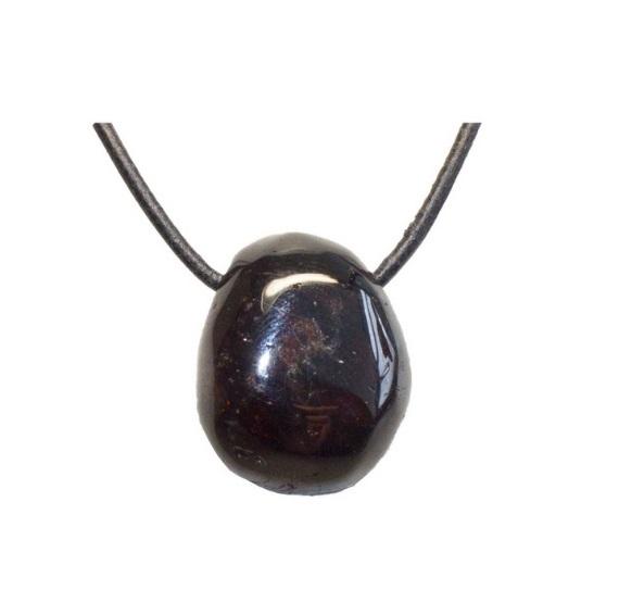 lihvitud Granaat, auguga (2708)