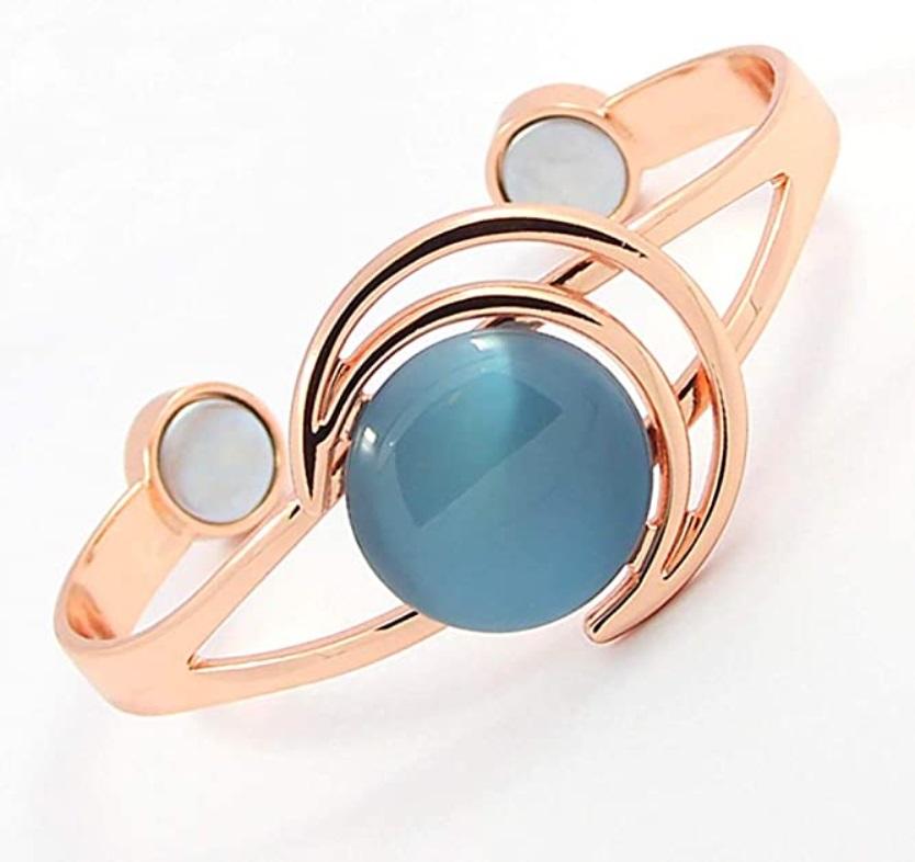 vasest käevõru magnetitega kassisilm sinine (2850)