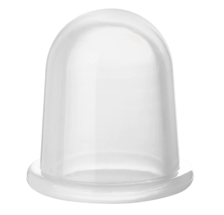 kehakupp keskmine läbipaistev- 5.4×5.5cm (2120)