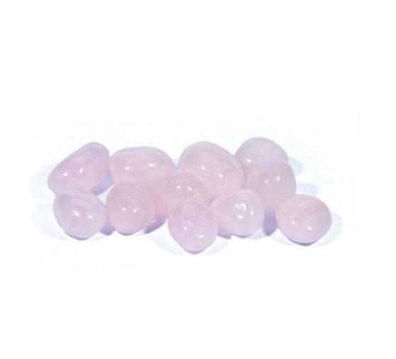 lihvitud roosa kvarts, väike (1048)