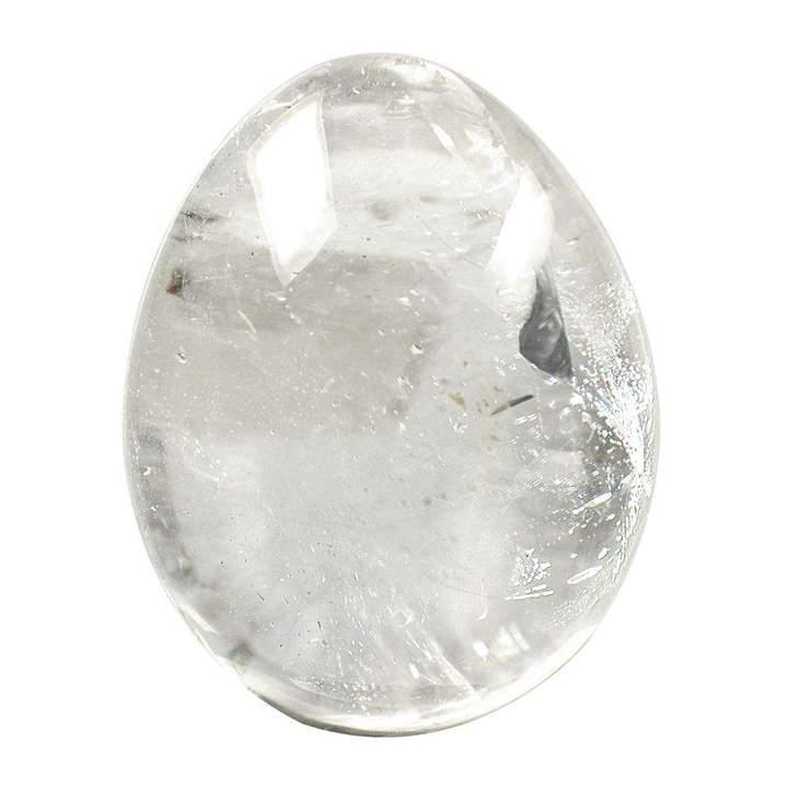 Yoni muna – mäekristall (M), ca. 30x40mm (2941)