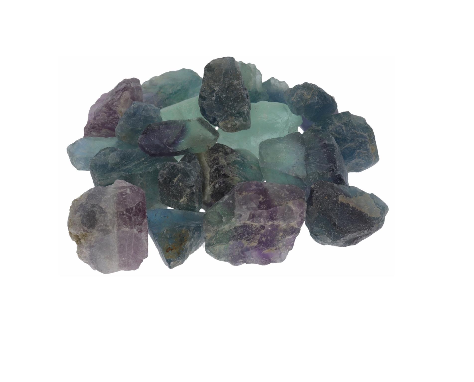 fluoriit toorkivi, ca. 3,5×3,5cm, 1tk (774)