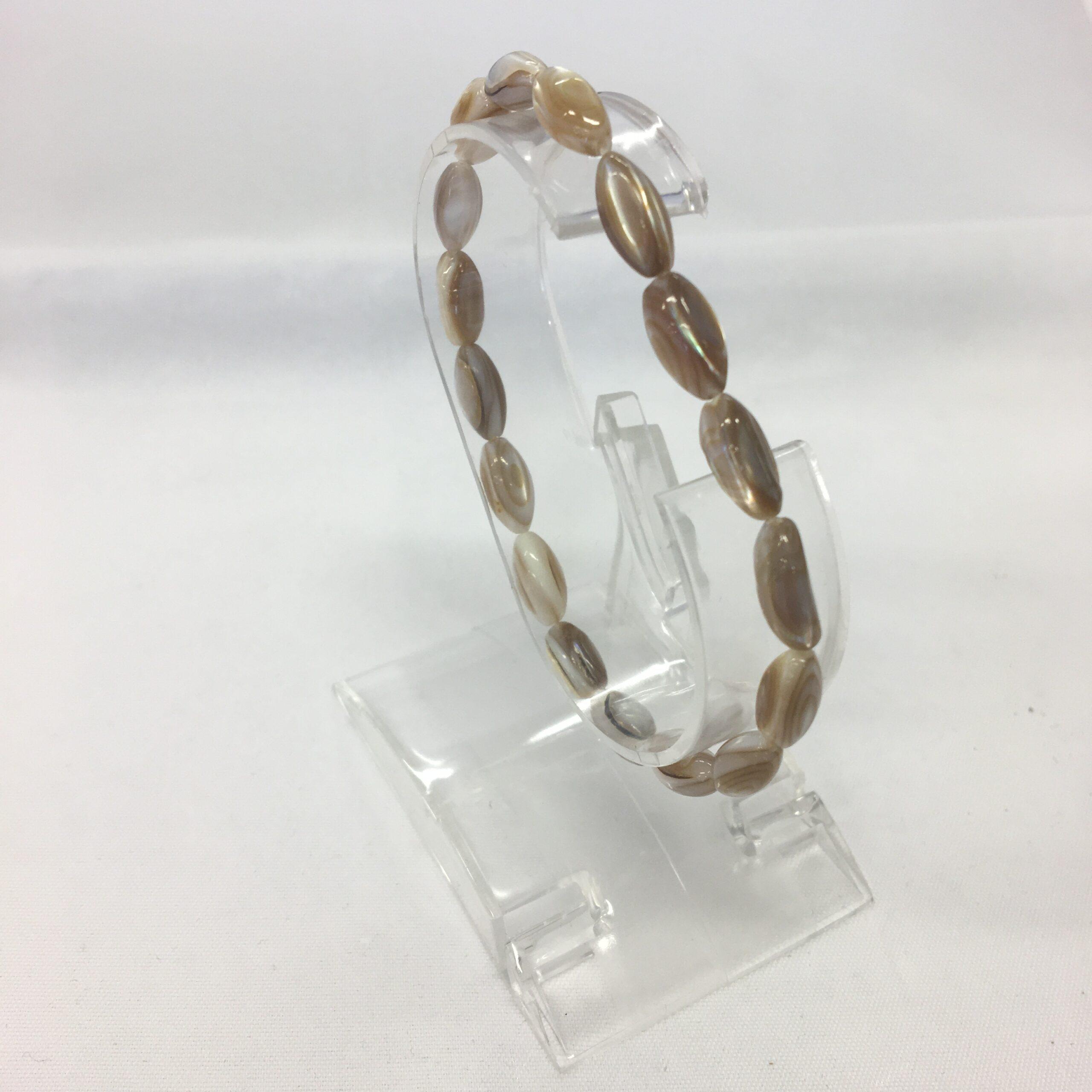 käevõru Pärlmutter teokarp, piklik pärl (2655)