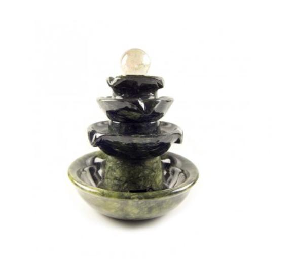 mäekristall kuuliga serpentiin purskkaev (2942)