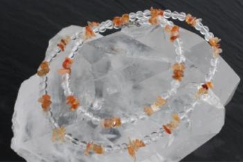 kaelakee- mäekristall-karneool (1661)